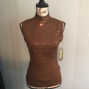NWT TanJay sparkly tank top size M